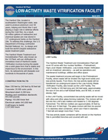 Low-Activity Waste Facility Fact Sheet