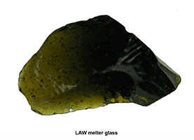 LAW Melter Glass
