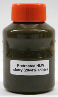 Pretreated HLW Slurry